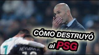 Como Zidane Remonto el Partido   Analisis Tactico Real Madrid vs PSG 3 1 Uefa Champions League