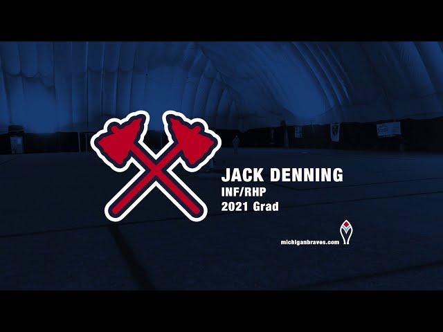 Michigan Braves Showcase 2020 Jack Denning