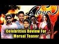 Mersal Teaser Celebrities Reviews | Celebrities Reactions & Views On Mersal Teaser | Vijay Mersal