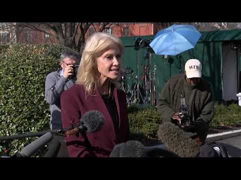 Conway clashes with reporter over Trump's facts