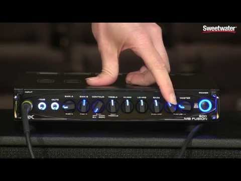 Gallien-Krueger MB Fusion 800 Hybrid Micro Bass Head Demo by Sweetwater