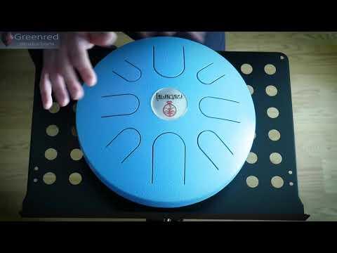 "relaxing-handpan-music-|-thomann-nataraj-tongue-12""-a-akebono-scale,-hand-drum-music"