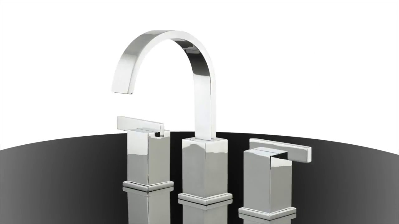 Danze D304144 Sirius 1.2 GPM 2-Handle Widespread Lavatory Faucet ...