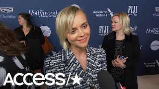 Christina Ricci Is Excited For Kevin Hart To Host The Oscars & Teases Holiday Plans | Access