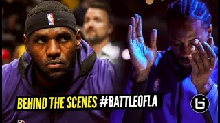 BattleOfLA: Kawhi vs LeBron & AD - The Sights and Sounds of Lakers-Clippers Opening Night