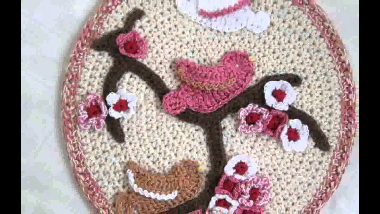 Home decor crochet design decoration youtube Crochet home decor pinterest