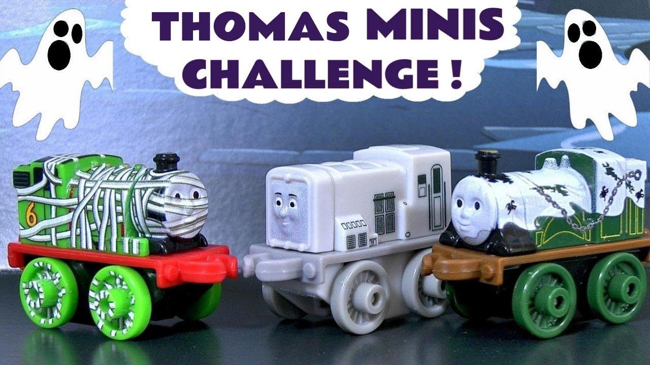 Thomas & Friends Spooky Minis Toy Trains Halloween Game Challenge - Family Friendly Fun TT4U