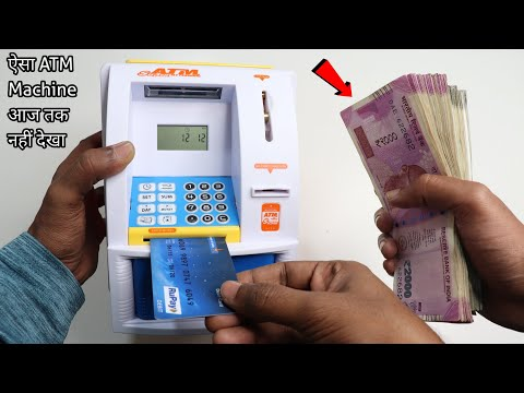 Intelligent Mini ATM Machine Unboxing & Testing - Chatpat toy tv