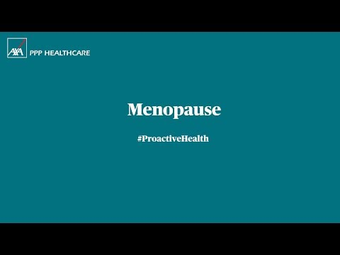Menopause symptoms and treatment   AXA PPP healthcare