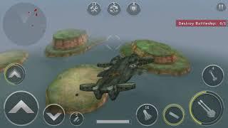 Gunship Battle Helicopter 3D Episode 3 Mission 9 The Invincible Armada - Dragonship in action
