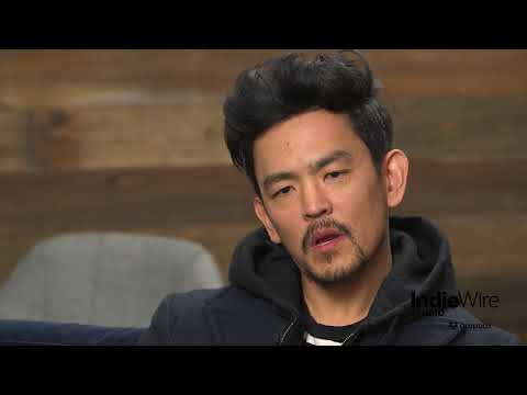 "John Cho discusses his film ""Search"" at IndieWire's Sundance Studio"