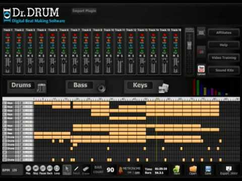 dr drum drum beat maker software for beginners and pros youtube. Black Bedroom Furniture Sets. Home Design Ideas