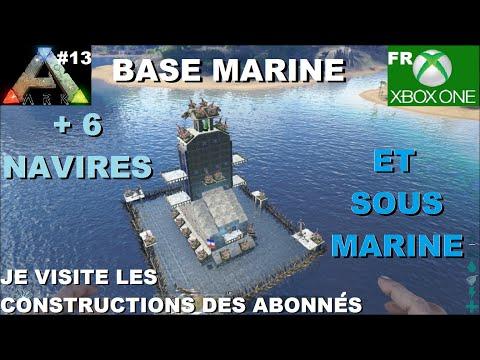 ARK Xbox One [FR] Bases Marine (#13 Je visite les constructions des Abonnés)