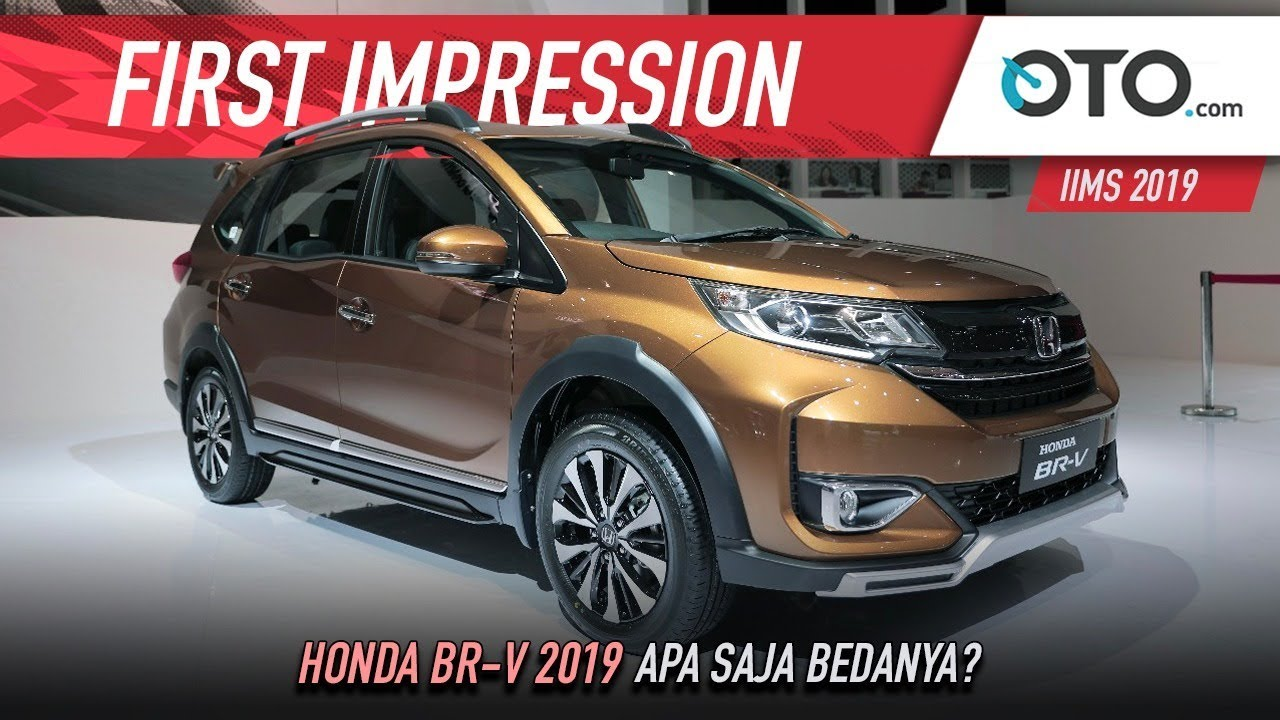 View Honda Br V 2019 Apa Saja Bedanya First Impression Oto