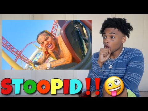This is Stupid.. 6IX9INE - STOOPID ‼️ FT. BOBBY SHMURDA *REACTION* (Official Music Video)