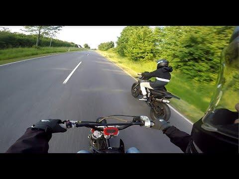 Start of the Summer On 50cc l Derbi Senda, Motard, Ciao l Crash l