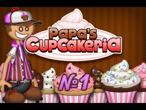 Кексики от Папы Луи   Papa's Cupcakeria   L.P.Daniel #1