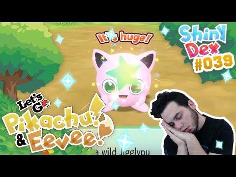 IM SLEEPING! SHINY JIGGLYPUFF in POKÉMON LET'S GO PIKACHU AND EEVEE!