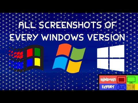 ALL MICROSOFT WINDOWS SCREENSHOTS (1.0-SERVER 2019)