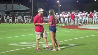 The Proposal - 50 Yard Line Game Ball Proposal