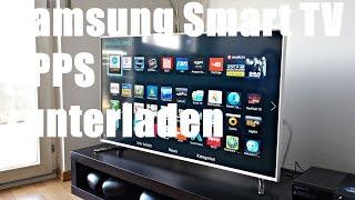 Samsung Smart TV - Apps runterladen
