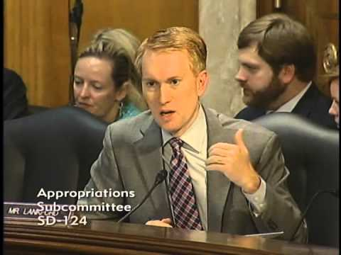 Senator Lankford Questions HHS Secretary Burwell at an Appropriations Hearing