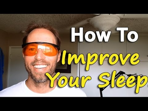 How To Get Better Sleep By Wearing These Glasses At Night