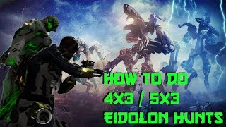How players do multiple Eidolon Tridolon sets in One night | 4x3  Guide