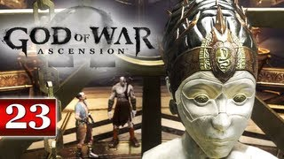 God of War Ascension (PS3) Walkthrough - Part 23: Chapter 27 | The Lantern of Delos - The Eyes of Truth GoW Ascension Let
