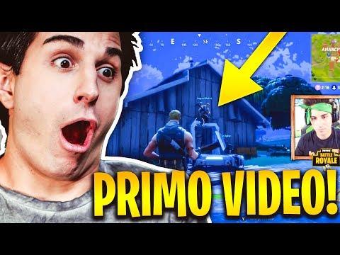 REACTION AL MIO PRIMO VIDEO SU FORTNITE!