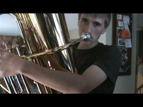 A&W rootbeer theme song on tuba