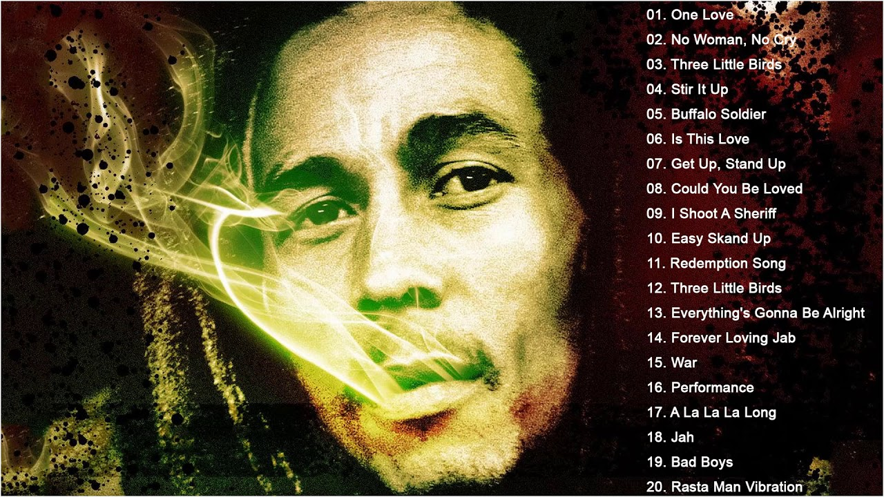 The Best Of Bob Marley Greatest Hits Full Album - Old Reggae Classic Music 70's 80's