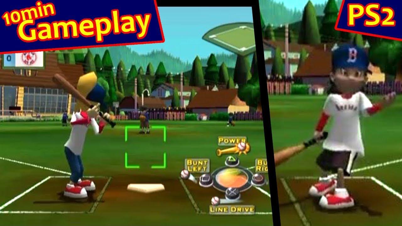 Backyard Baseball 2007 ... (PS2) - YouTube