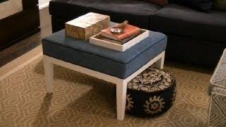 How Sofa Different Ottoman Living Room Design