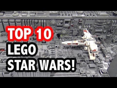 Top 10 Epic LEGO Star Wars Creations!