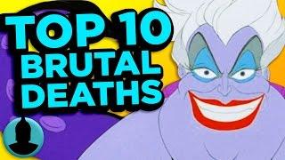 Top 10 Most Brutal Cartoon Deaths EVER - (ToonedUp #87) @ChannelFred