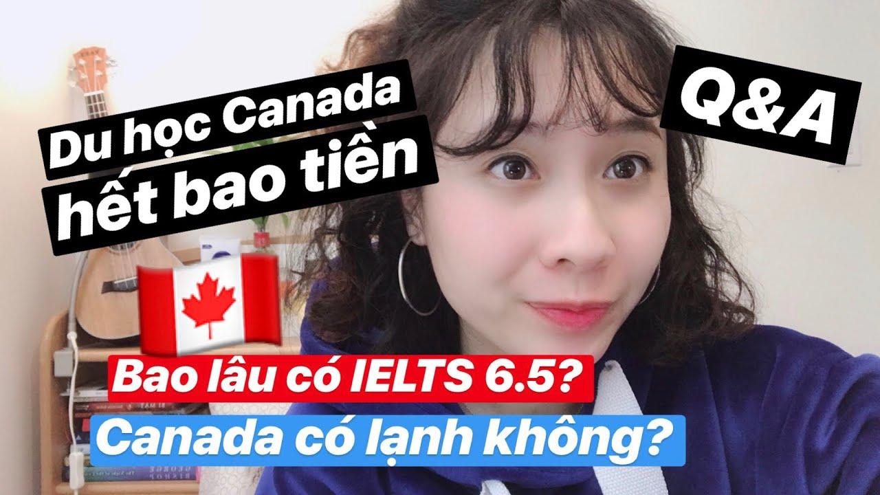 🇨🇦Du Học Canada Bao Nhiêu Tiền? Canada Có Lạnh Lắm Không?| Q&A | Vlog | Diệu Linh