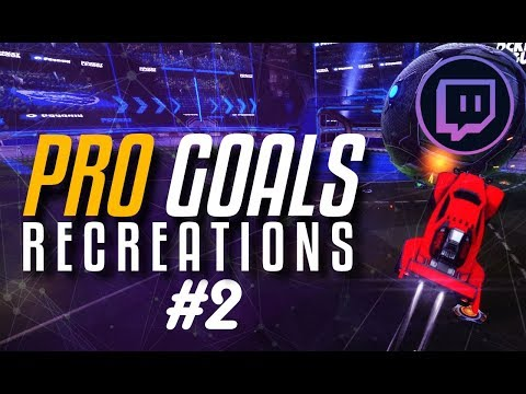 RECREATING PRO GOALS #2 ft. SadJunior, GarrettG | Consistency Custom Training Pack (PC/PS4/XBOX)