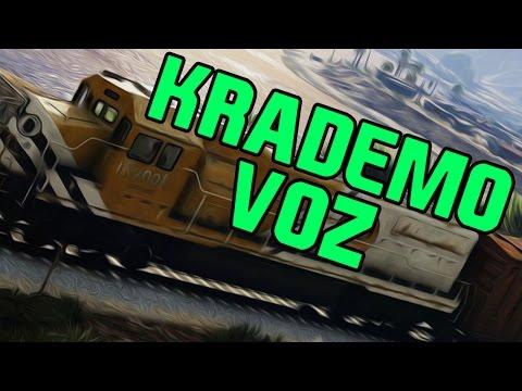 KRADEMO VOZ I BUDZIMO AUTO ZA HEIST ! Grand Theft Auto V
