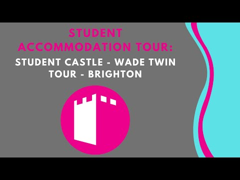 Student Castle - Wade Twin Student Accommodation Tour - Brighton