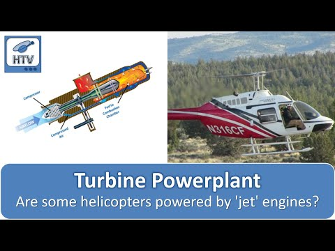 Turbine or Turboshaft Powerplant - Helicopter Components