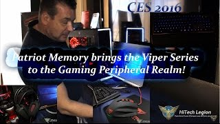 Back in the Game, Keyboards, Memory, SSD's, Mice and Headsets, Patriot Memory CES 2016