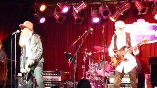 Billy F. Gibbons & Friends - Get Out Of My Life Woman 12-17-13 BB Kings, NYC