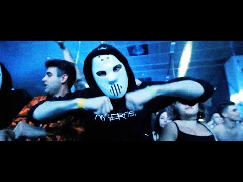 """Angerfist at """"Reload Music Festival"""" Torino, Italy (2018)"""