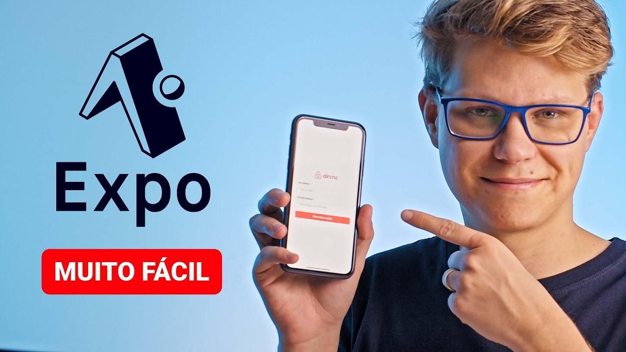 Você já viu como é fácil utilizar o Expo para desenvolver um App Mobile Nativo? (Android e iPhone)