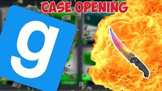 [FR-GMOD] CASE OPENING #1 : DU LOURD OU PAS ? LA CHANCE ?!