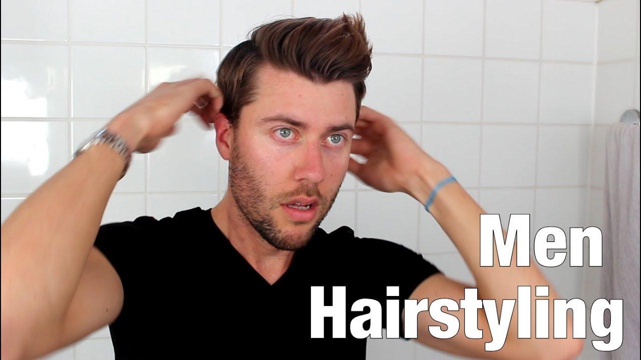 So Style Ich Meine Haare Männer Hairstyling Axel Munich