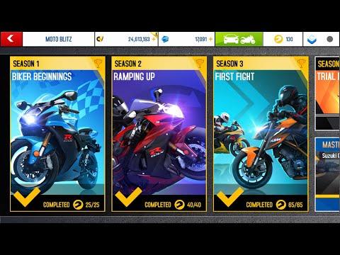 Asphalt 8, MOTO Blitz, Season 3, last 4 races