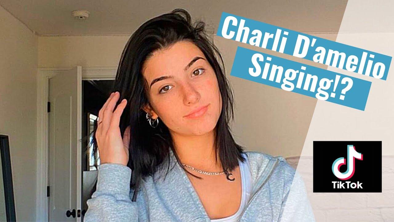 Charli D'Amelio Singing Compilation - YouTube