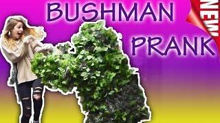 Bushman Scare Prank #332 | Funny Prank | EUGENE Bushman || Funny Video | Las Vegas Bush Man